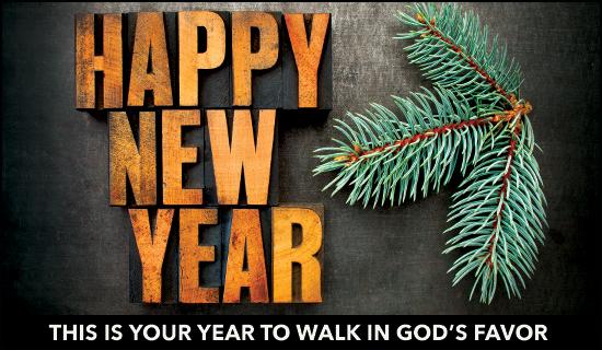 Walk in God's Favor
