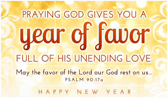 Year of Favor - Ecard