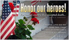 Honor Our Heroes - Ecard