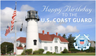 Coast Guard Birthday - Ecard