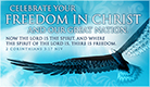 Freedom in Christ - Ecard