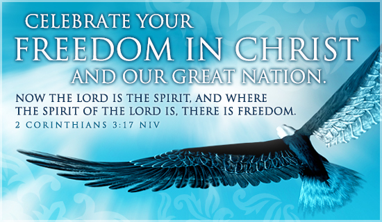 Freedom in Christ - Wallpaper