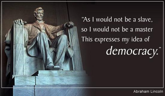 A Lincoln Democracy