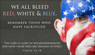 Red, White & Blue - Ecard