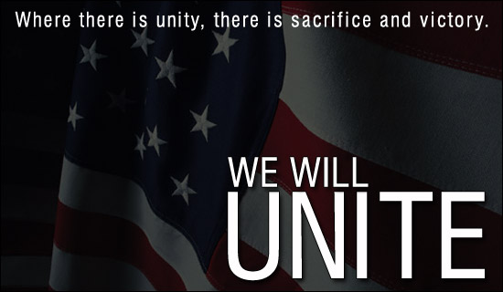 We Will Unite!
