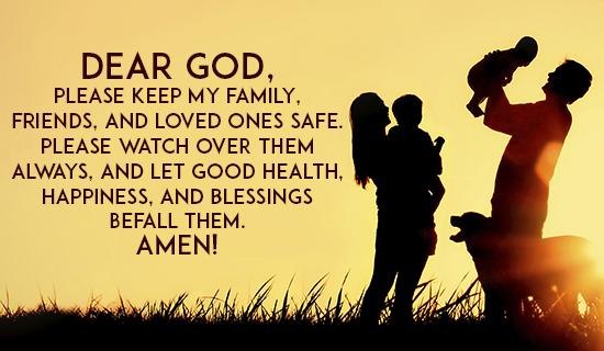 Send blessings their way!