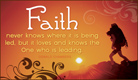 Faith - Ecard