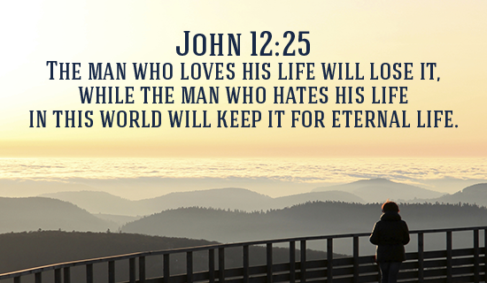 Eternal Life with HIM is infinitely better!