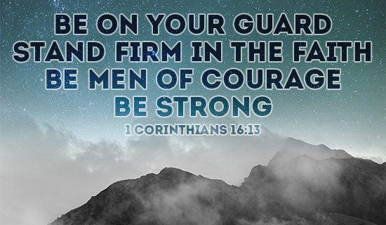 Be on your guard!