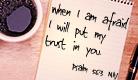 Psalm 56:3 NIV