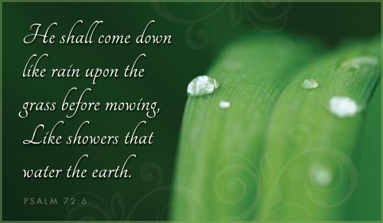 Psalm 72:6