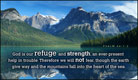 Refuge and Strength - Ecard