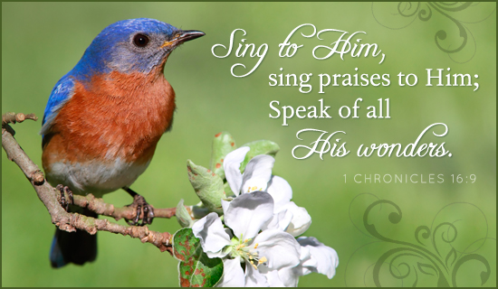 Sing Praises - Ecard