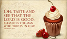 Taste and See - Ecard