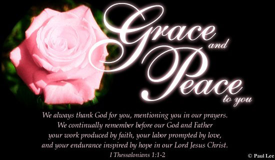 Grace And Peace