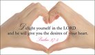 Desires of Your Heart - Ecard