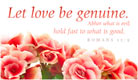 Genuine Love - Ecard