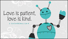 Love is Patient - Ecard