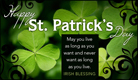 Irish Blessing - Ecard