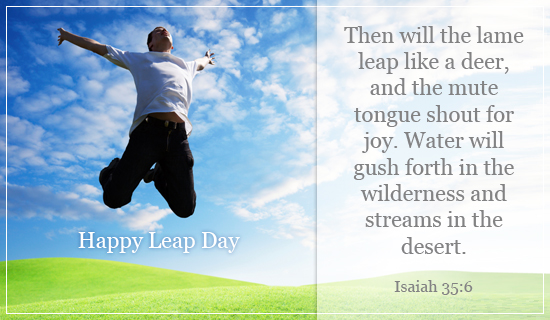 Happy Leap Day - Ecard