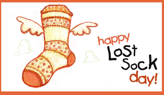 Lost Sock Day (5/9)