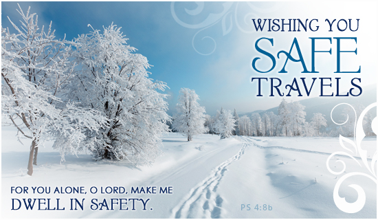 Safe Travels - Ecard