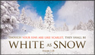 White As Snow - Ecard