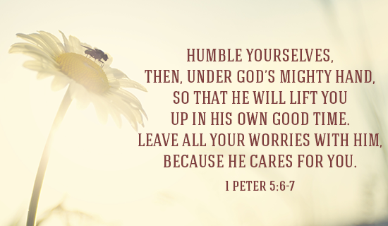 Humble Yourselves Before God