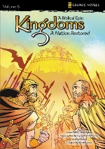 A Nation Restored (Kingdoms: A Biblical Epic #8)
