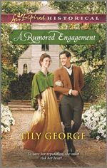A Rumored Engagement (Love Inspired Historical)