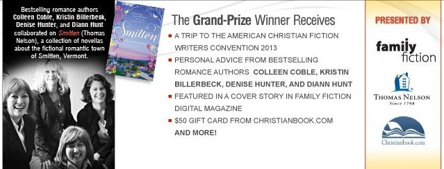 Create Romance Grand Prize Winner Receives