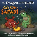 Q&A:  Evangeline Denmark (The Dragon and the Turtle Go on Safari)