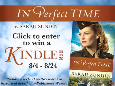 Enter to Win a Kindle HDX from Sarah Sundin