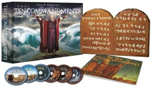 The Ten Commandments (Limited Edition Gift Set) [Blu-ray]