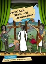 Jesus' Life, Death, and Resurrection: Volume 5 (The Connect Bible Stories)