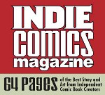 K.J. Kolka's The Cardinal in New Indie Comics Magazine