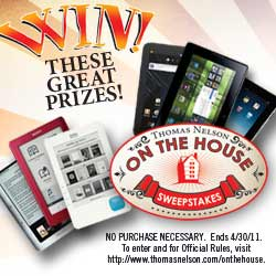 Publisher Thomas Nelson Launches Sweepstakes in Retail Stores