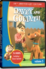 Davey and Goliath continues with Volume 5