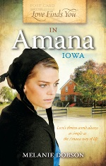 Melanie Dobson: Amana Colonies at center of new historical fiction