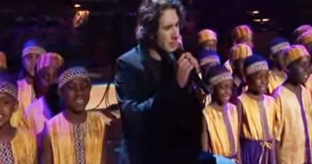 Josh Groban STUNS with African Children's Choir
