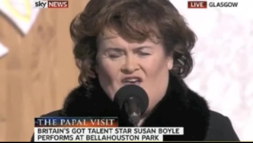Susan Boyle S Performance Of How Great Thou Art Will Take