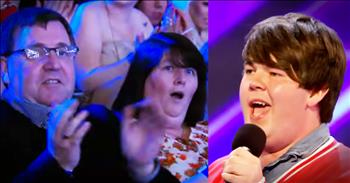 Son Surprises His Parents With His BIG X Factor Audition