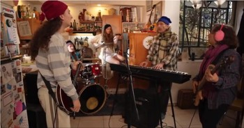 AWESOME Family Band Covers Somebody to Lo