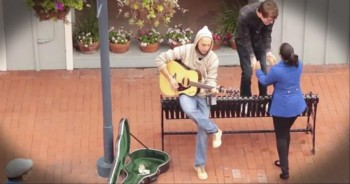 A Flash Mob Brings a Little Random Love to a Farmers Market