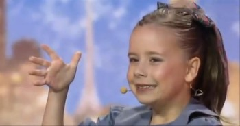She Can Sing, She Can Dance... This Little Girl Can Do it All! Wow!