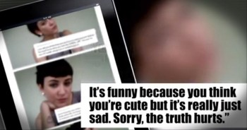 Woman Uses CyberBullies' Own Words to Fight the Hurtful Comments