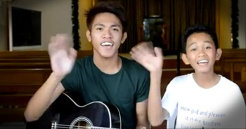 Brothers Incredibly Sing 'We Are' by Kari Jobe