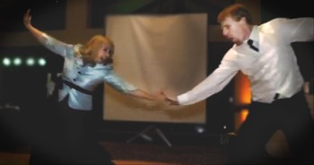 Mother and Son Surprise Wedding Guests with the Best Dance We've Seen This Year!