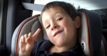 Carseat Crooner Adorably Serenades His Mom - Too Cute for Words