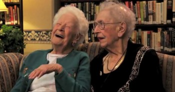 100-Year-Old Best Friends' Hilarious Take on Our World
